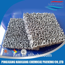 Alumina Ceramic Foam Filter casting filtration Silicon carbide ceramic foam filter for iron foundry