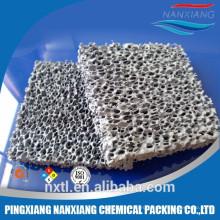 Фильтр пены глинозема керамический фильтр пены карбида кремния керамический для фильтрации отливок чугунолитейного