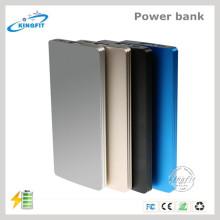Dual USB Port External Slim Bateria Móvel 4000mAh Power Bank