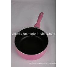 Utensilios de cocina Salsa antiadherente de aluminio Pan Milk Pot Cookware