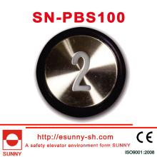 30mm Push Button for Otis (SN-PBS101)