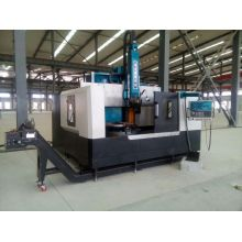 High Accuracy Vertical Lathe Machine For Turning Flange