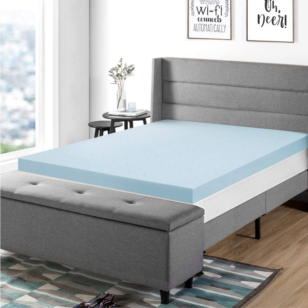2 Memory Foam Mattress Topper King