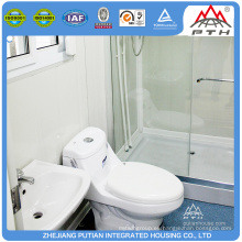Sitio de la obra publice rápido cuarto de baño de la fuente cuarto de baño del prefab