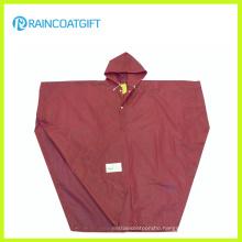 Clear Adult PVC Rain Poncho