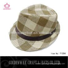 Chapéu Fedora de Moda Masculina