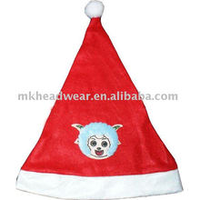 kis cute christmas hat with patch work
