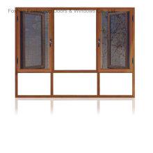 Feelingtop окна с двойным остеклением алюминия с москитной сеткой (фут-W108)