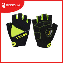 Custom Outdoor Sports Bike Riding Mesh Half Finger Gloves for Cycling