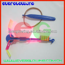 flying light up helicopter