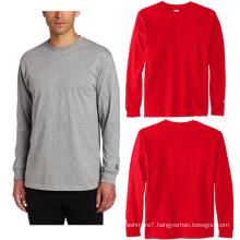 OEM Men Long Sleeve Fitness Shirts Sport Running Gym T-Shirts