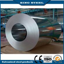 Revêtement de Zinc plongé chaud galvanisé acier bobine