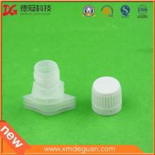 13mm Liquid Shampoo Laundry Detergent Spout with Cap Assembled