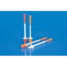 Seringa médica do Insulin com CE, ISO, GMP, SGS, TUV