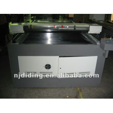 CO2 laser cutting machine with double heads
