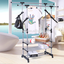 Hanging Clothes Drying Rack with Heavy Duty loading elegant garment rack style