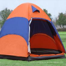 Grande tamanho 5-8 pessoa cúpula barraca de camping barraca de acampamento leve portátil personalizado