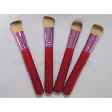 Mini 4PCS Synthetic Travel Makeup Brush Set
