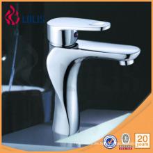 (3101) Mezclador de cobre amarillo del grifo del lavabo del grifo del lavabo del lavabo
