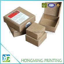 Wholesale Different Sizes Brown Kraft Paper Soap Boxes