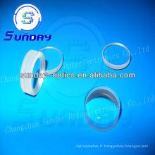 Lentille optique bi-convexe, verre bk7, AR enduit, 2mm, 5mm, 8mm, 18mm, 20mm