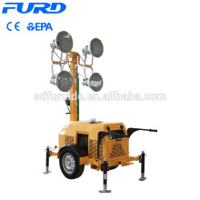 23ft 4000 Watts Light Tower With Generator Set 23ft 4000 Watts Light Tower With Generator Set FZMTC-400B