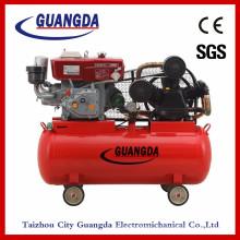 Compresseur d'air diesel haute pression 10HP (W-0.97 / 12.5)