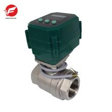 304 / UPVC válvula solenóide elétrica de válvula de fechamento para piscina