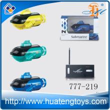 2016 Am beliebtesten 777-219 4 Kanal rc U-Boot Spielzeug Super Mini Boot mit Licht zum Verkauf