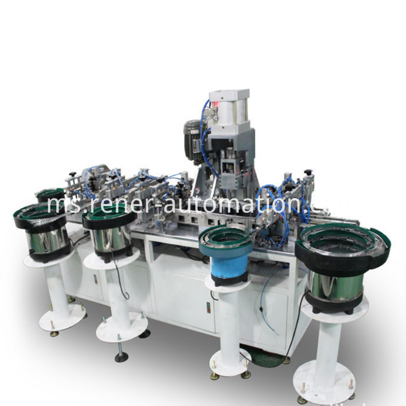 Keyboard Keys Assembly Machine