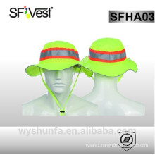 wholesale safety plain bucket hat with string