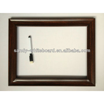 OEM magnetic whiteboard with PS frame 20*30cm