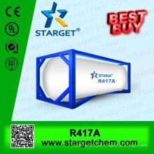 13.6kg Refrigerant gas r417a in 30lb cylinder