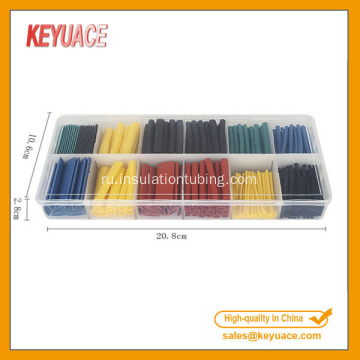 280pcs Colorful Electrical Cable Kits Shrinkable Tube