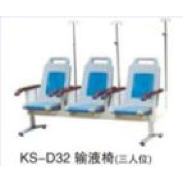 Cadeira de infusão hospitalar (3 lugares)