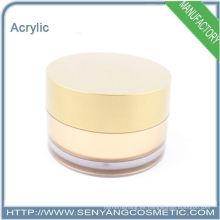 Nuevo diseño de envases cosméticos envase acrílico frasco cosmético fabricante