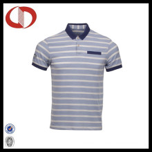 High Quality Fashion Striped Men′s Polo Shirts 2016