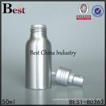 bulk 50ml aluminum bottles with spray