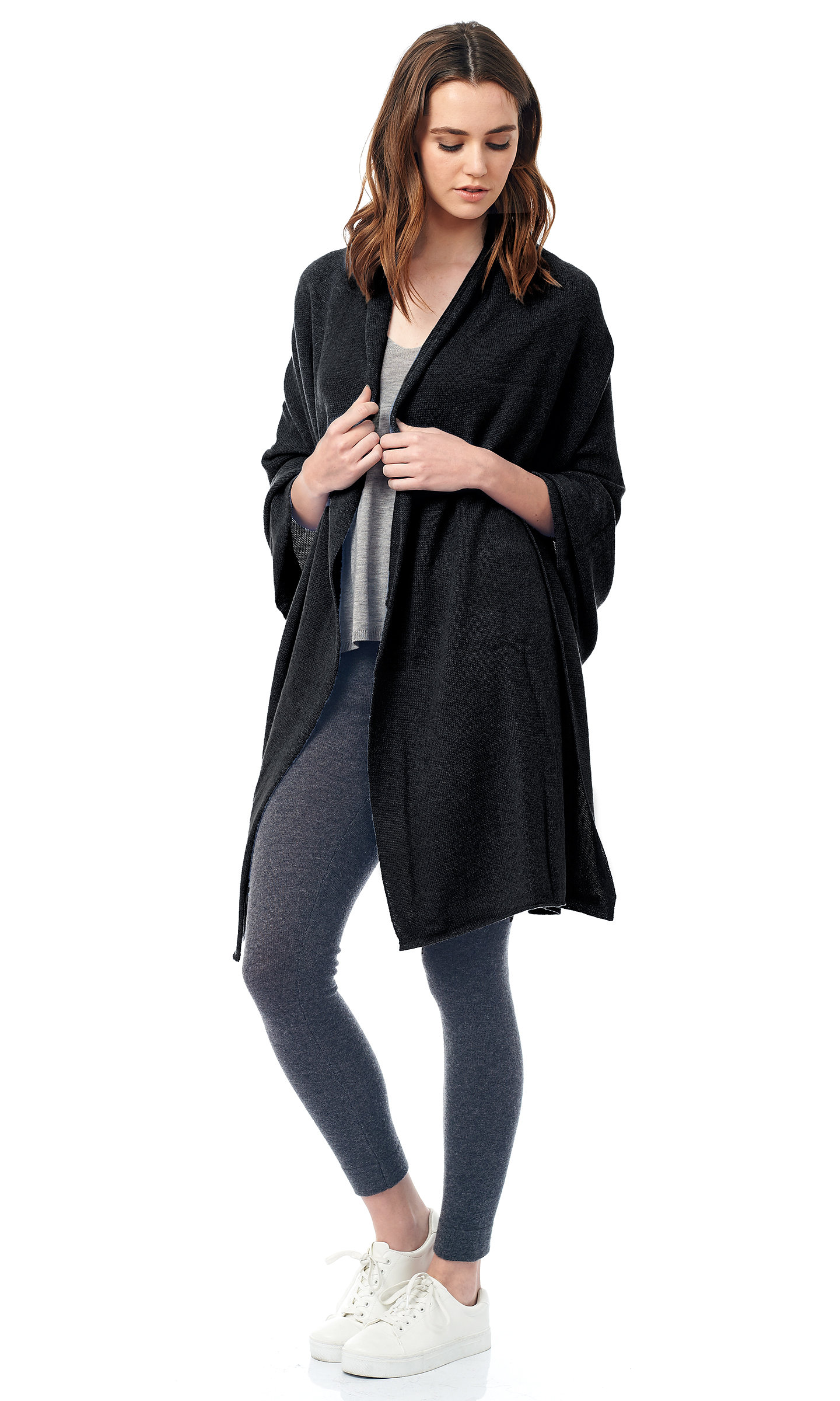 black jersy knit travel wrap (1)
