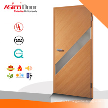 ASICO Wooden Flush Door Latest Design With Glass