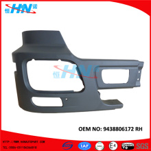Corner Bumper 9438806172 Truck Parts For Mercedes Spare Parts