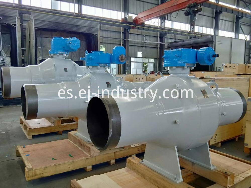Welded Body Trunnion Ball Valve