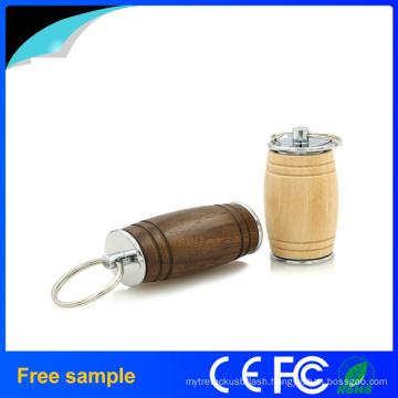 Natural Oak Barrel Wood USB Flash Drive 8GB