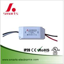 пластиковый корпус постоянного тока (8-12)x1w светодиодный драйвер 300ма мощность