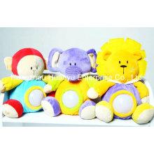 Fábrica de enchimento Stuffed Baby Evening Lignt Toy