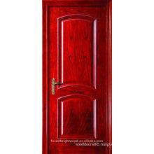Red Oak Interior Arch Top Wood Door