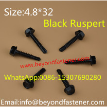 Self Drilling Screw Black Ruspert