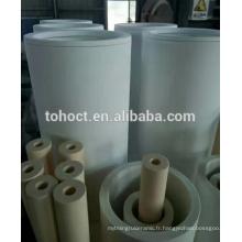 Bon choc thermique longue durée de vie 45 --- 99.7% grande taille alumine sic zircone mullite céramique tube tuyau tige pour four réfractaire