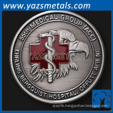 customize metal 55th Medical Group, Offutt AFB, NE challenge coin