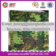 Tissu de stock imprimé de camouflage de T / C pour le vêtement dans la porcelaine de Weifang